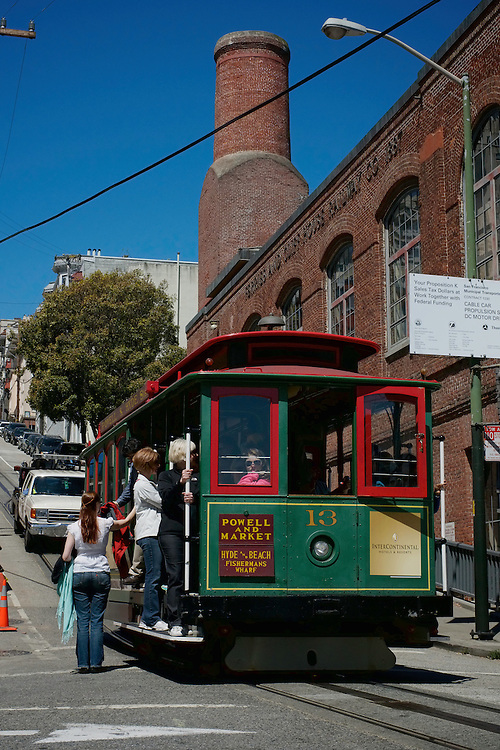 Cable Car 13, Inbound on the Powell & Hyde Line | May 23, 2012