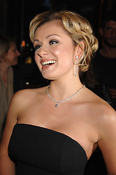 Singer KATHERINE JENKINS at a reception to launch Montblanc's First Fine Jewellery Collection held at The Victoria & Albert Museum, Cromwell Road, London SW7 on 24th April 2007.<br />