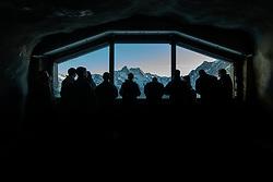 15.01.2020, Jungfraujoch, Wengen, SUI, FIS Weltcup Ski Alpin, Sightseeing Tour, im Bild blick aus der Eiger Nordwand // view from the Eiger Nordwand during a sightseeing tour of FIS ski alpine world cup at the Jungfraujoch in Wengen, Switzerland on 2020/01/15. EXPA Pictures © 2020, PhotoCredit: EXPA/ Johann Groder