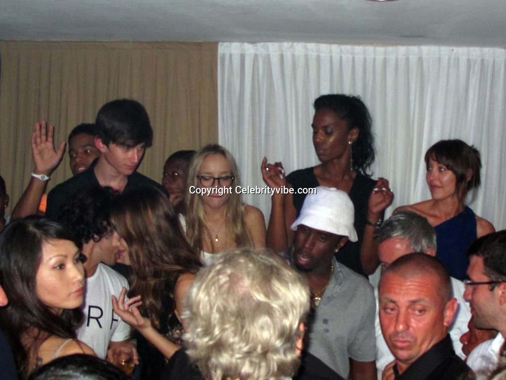 **EXCLUSIVE**P. Diddy, Kim Porter, Tamara Mellon.Diddy Party in St Barth.Casa Nikki Nightclub.St. Barth, Caribbean.Monday, December 27, 2010.Photo By CelebrityVibe.com.To license this image please call (212) 410 5354; or Email: CelebrityVibe@gmail.com ; website: www.CelebrityVibe.com