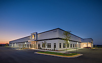 Exterior Image of Elite Shooting Sports Indoor Shooting Range in Gainsville Virginia by Jeffrey Sauers of Commercial Photographics, Architectural Photo Artistry in Washington DC, Virginia to Florida and PA to New England