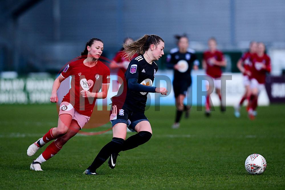 Charlie Wellings of Bristol City - Mandatory by-line: Ryan Hiscott/JMP - 08/12/2019 - FOOTBALL - Stoke Gifford Stadium - Bristol, England - Bristol City Women v Birmingham City Women - Barclays FA Women's Super League