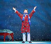The Snowman <br /> at The Peacock Theatre, London, Great Britain <br /> press rehearsals<br /> 23rd November 2016 <br /> <br /> <br /> <br /> <br /> Cameron Sutherland as Boy <br /> <br /> <br /> <br /> <br /> <br /> Photograph by Elliott Franks <br /> Image licensed to Elliott Franks Photography Services