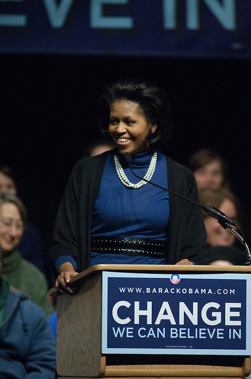 18581Chelsea Clinton Speaking to Ohio University community at the Baker Center Billiards area on Feb. 28th, 2008