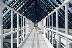 The catwalk in the roof of Tollcroft Swimming Complex  at 2015 IPC Swimming World Championships -