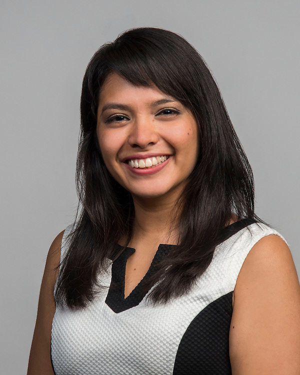 Maryell Hernandez poses for a photograph, September 2, 2014.