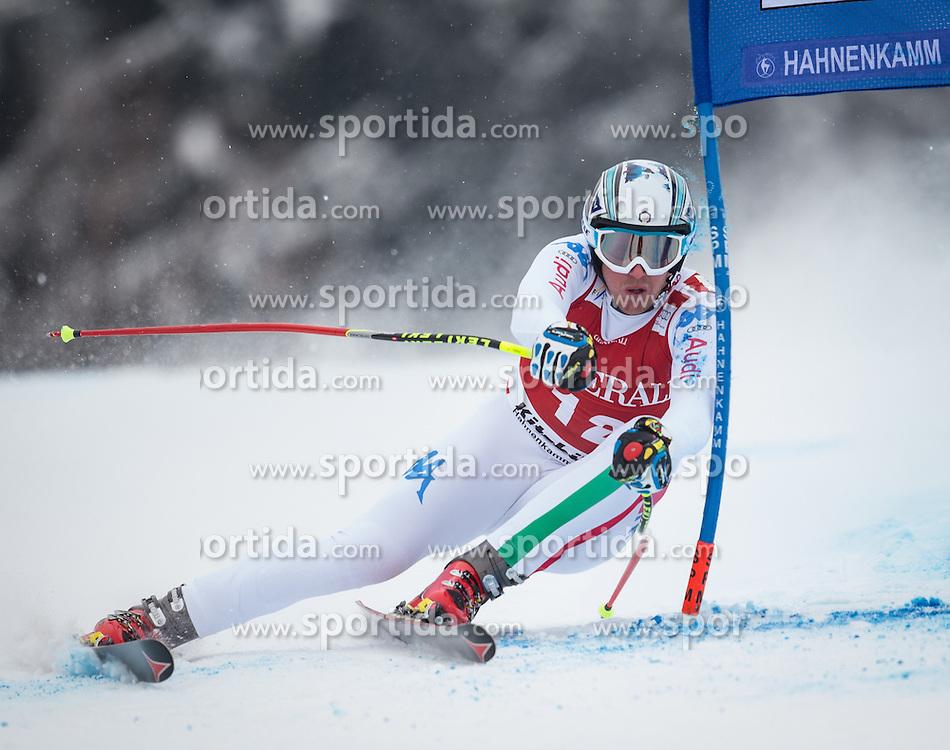 25.01.2013, Streif, Kitzbuehel, AUT, FIS Weltcup Ski Alpin, Super G, Herren, im Bild Werner Heel (ITA) // Werner Heel of Italy in action during mens SuperG of the FIS Ski Alpine World Cup at the Streif course, Kitzbuehel, Austria on 2013/01/25. EXPA Pictures © 2013, PhotoCredit: EXPA/ Johann Groder