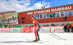 17.03.2017, Ramsau am Dachstein, AUT, Special Olympics 2017, Wintergames, Langlauf, Divisioning 5 km Freestyle, im Bild Francis Stanley (CAN) // during the Cross Country Divisioning 5 km Freestyle at the Special Olympics World Winter Games Austria 2017 in Ramsau am Dachstein, Austria on 2017/03/17. EXPA Pictures © 2017, PhotoCredit: EXPA / Martin Huber
