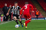 Max Wright of Grimsby Town during the EFL Sky Bet League 2 match between Grimsby Town FC and Crawley Town at Blundell Park, Grimsby, United Kingdom on 29 December 2019.