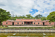 Lin Antai Historical House and Museum. The original structure was constructed 200 years ago, undergoing expansion as the Lin family grew. In 1978 the house faced demolition for road construction and was moved brick by brick from its original site to the park it currently sits in, and in 2000 reopened as a museum.