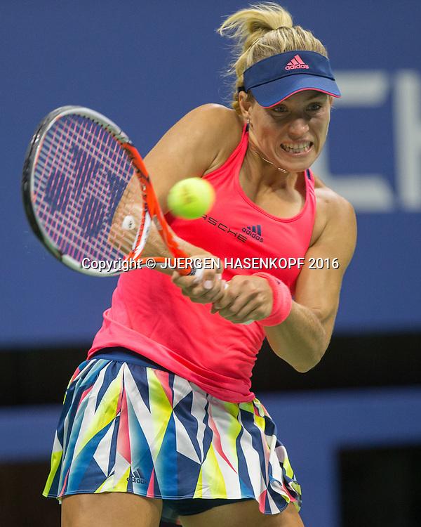 ANGELIQUE KERBER (GER)<br /> <br /> Tennis - US Open 2016 - Grand Slam ITF / ATP / WTA -  USTA Billie Jean King National Tennis Center - New York - New York - USA  - 4 September 2016.