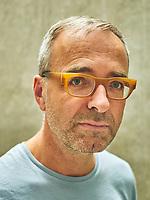 Portrait of Belgian artist. David Claerbout at the Kunsthaus Bregenz.