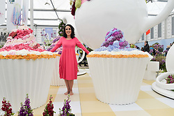 LESLIE JOSEPH at the 2015 RHS Chelsea Flower Show at the Royal Hospital Chelsea, London on 18th May 2015.