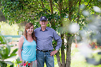 portraits for sally and noel hewlett at the whitianga bike park on the coromandel peninsula felicity jean photographer coromandel photographer