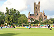 New Road, home of Worcestershire CCC during the Natwest T20 Blast North Group match between Worcestershire County Cricket Club and Northamptonshire County Cricket Club at New Road, Worcester, United Kingdom on 26 June 2015. Photo by Shane Healey.