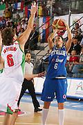 DESCRIZIONE : Ortona Italy Italia Eurobasket Women 2007 Bielorussia Italia Belarus Italy <br /> GIOCATORE : Giorgia Sottana <br /> SQUADRA : Nazionale Italia Donne Femminile <br /> EVENTO : Eurobasket Women 2007 Campionati Europei Donne 2007 <br /> GARA : Bielorussia Italia Belarus Italy <br /> DATA : 03/10/2007 <br /> CATEGORIA : Tiro <br /> SPORT : Pallacanestro <br /> AUTORE : Agenzia Ciamillo-Castoria/S.Silvestri <br /> Galleria : Eurobasket Women 2007 <br /> Fotonotizia : Ortona Italy Italia Eurobasket Women 2007 Bielorussia Italia Belarus Italy <br /> Predefinita :