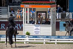 Verliefden Fanny, BEL, Indoctro vd Steenblok<br /> European Championship Dressage<br /> Rotterdam 2019<br /> © Hippo Foto - Stefan Lafrentz<br /> Verliefden Fanny, BEL, Indoctro vd Steenblok