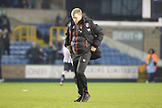 Bournemouth Manager Eddie Howe  after the game during the The FA Cup 3rd round match between Millwall and Bournemouth at The Den, London, England on 7 January 2017. Photo by Matthew Redman.