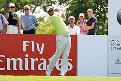 26.06.2015, Golfclub München Eichenried, Muenchen, GER, BMW International Golf Open, Tag 2, im Bild Florian Fritsch (GER) am Abschlag, Tee // during day two of the BMW International Golf Open at the Golfclub München Eichenried in Muenchen, Germany on 2015/06/26. EXPA Pictures © 2015, PhotoCredit: EXPA/ Eibner-Pressefoto/ Kolbert<br /> <br /> *****ATTENTION - OUT of GER*****