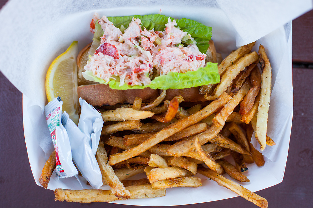 Lobster Roll at Aqua Bar ($21.00) - OFF: Cape Cod