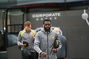 Burton Albion midfielder Hope Akpan (21) arrives during the EFL Sky Bet Championship match between Nottingham Forest and Burton Albion at the City Ground, Nottingham, England on 21 October 2017. Photo by John Potts.