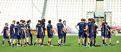 16.06.2012, Jozef Pilsudski Stadion, Krakau, POL, UEFA EURO 2012, Italien, Training, im Bild Cesare PRANDELLI con gli azzurri (Italia) // during EURO 2012 Trainingssession of Italian Nationalteam, at the Jozef Pilsudski Stadium, Krakau, Poland on 2012/06/16,. EXPA Pictures © 2012, PhotoCredit: EXPA/ Insidefoto/ Alessandro Sabattini..***** ATTENTION - for AUT, SLO, CRO, SRB, SUI and SWE only *****