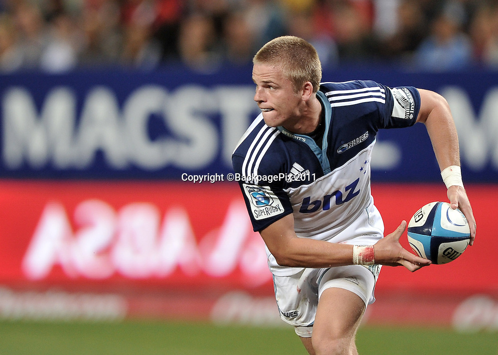 Gareth Anscombe of the Blues<br /> <br /> &copy;Ryan Wilkisky/BackpagePix