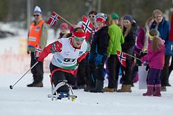 LUKYANENKA Yauheni, BLR, Short Distance Biathlon, 2015 IPC Nordic and Biathlon World Cup Finals, Surnadal, Norway