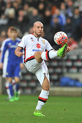 samir carruthers mk dons,  MK Dons v Chelsea,  FA Cup 4th Round Stadium MK Sunday 31st January 2016