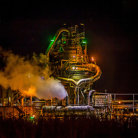 BHP's Kwinana Nickel Refinery, south of Perth in Western Australia provides some great photo opportunites at night.