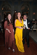 PONTINE PAUS; LILY LEWIS; MANUEL PINTO RIBIERO; , Game & Wildlife Conservation Trust's Ball. Savoy Hotel. London. 6 November 2013.