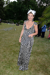 AMBER NUTTALL at The Animal Ball in aid of The Elephant Family held at Lancaster House, London on 9th July 2013.