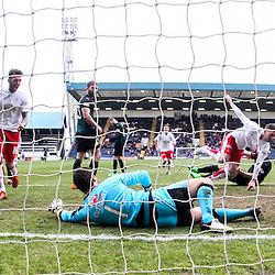 Raith Rovers v Falkirk, Scottish Championship game 23/4/2016 at Stark's Park