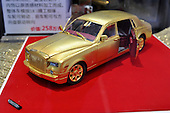 Rolls-Royce Golden Car Model Valued AT 2,580,000 Yuan