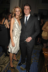 CHARLES BEAMISH and CLAUDIA SHAPIRO at a party to celebrate the launch of The Essential Party Guide held at the Mandarin Oriental Hyde Park, 66 Knightsbridge, London on 27th March 2007.<br />