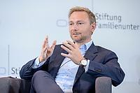 28 JUN 2019, BERLIN/GERMANY:<br /> Christian Lindner, FDP Bundesvorsitzender, waehrend einer Diskussion, Tag des Deutschen Familienunternehmens, Hotel Adlon<br /> IMAGE: 20190628-01-180