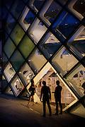 Tokyo, May 29 2012 - Prada building by Swiss architects Herzog & De Meuron in the Omotesando area.