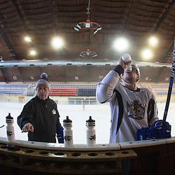 20150828: SLO, Ice Hockey - Practice session of Anze Kopitar, LA Kings NHL player