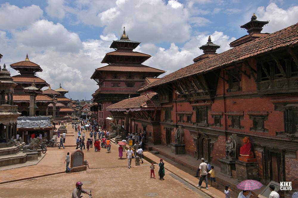 Patan's Durbar Square. Patan. B1276