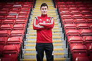 Tuesday 24th February, 2015, Aberdeen, Scotland. AFC Programme<br /> Pictured: Donervorn Daniels<br /> (Photo: Newsline Media)