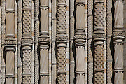 Detail of pillars next to Cromwell Road entrance
