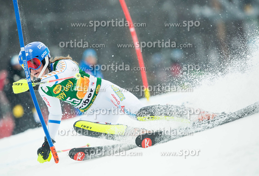 SAEFVENBERG Charlotta (SWE) competes during the 1st Run of 7th Ladies' Slalom at 51st Golden Fox of Audi FIS Ski World Cup 2014/15, on February 22, 2015 in Pohorje, Maribor, Slovenia. Photo by Vid Ponikvar / Sportida