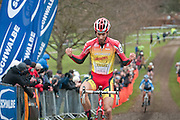 National Cyclocross Championships 2012. Chantry Park, Ipswich, Suffolk. 8.1.2012
