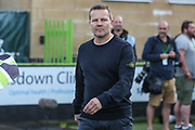 Forest Green Rovers manager, Mark Cooper during the EFL Sky Bet League 2 second leg Play Off match between Forest Green Rovers and Tranmere Rovers at the New Lawn, Forest Green, United Kingdom on 13 May 2019.