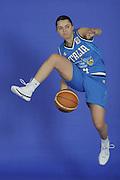 DESCRIZIONE : Venezia Additional Qualification Round Eurobasket Women 2009 Posati Nazionale Femminile<br /> GIOCATORE : Angela Gianolla<br /> SQUADRA : Nazionale Italia Donne<br /> EVENTO : <br /> GARA : <br /> DATA : 04/01/2009<br /> CATEGORIA : Ritratto<br /> SPORT : Pallacanestro<br /> AUTORE : Agenzia Ciamillo-Castoria/M.Gregolin
