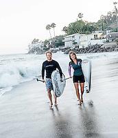 Malibu lifestyle magazine photo for Rich and Kathy Fetke Real Wealth Network Malibu