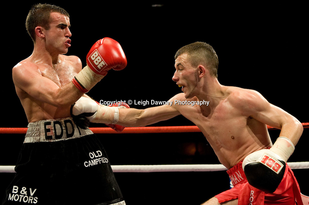 Paul Edwards defeats Andy Bell at the Harvey Hadden Leisure Centre 5th February 2010 Frank Maloney Promotions Photo credit © Leigh Dawney