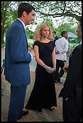 WILLIAM VESTEY; VIOLET HENDERSON, Cartier dinner in celebration of the Chelsea Flower Show. The Palm Court at the Hurlingham Club, London. 19 May 2014.