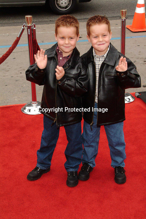 Brent and Shane Kinsman<br />&ldquo;Looney Tunes:  Back In Action&rdquo; Film Premiere<br />Grauman's Chinese Theater<br />Hollywood, CA, USA<br />Sunday, November, 09, 2003 <br />Photo By Celebrityvibe.com/Photovibe.com