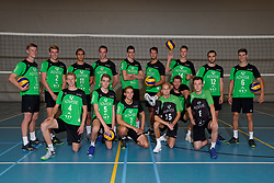 09-09-2019 NED: Photoshoot Volleyball club Advisie/SSS, Barneveld<br /> Teamphoto SSS 2019-2020